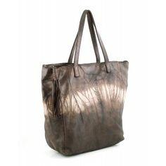 Bolso de piel dark brown Caterina Lucchi www. Dark Brown, Tote Bag, Bags, Fashion, Handbags, Moda, Fashion Styles, Carry Bag, Taschen