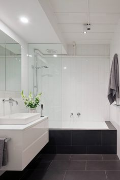 Prahran Residence By K2ld Architects And Interiors Homeadore Narrow Bathroombathroom Laundrysmall