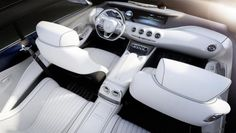 Mercedes Concept S Class Coupé interior. Look for in Detroit in Jan. #Nov2013
