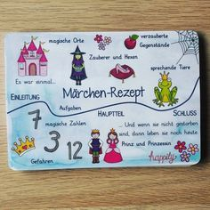 Märchen-Rezept Here again an overview in format, the … – Bags Teaching Secondary, Secondary School, Primary School, Elementary Schools, Primary Education, Superhero Classroom, Classroom Themes, German Language Learning, Teaching English