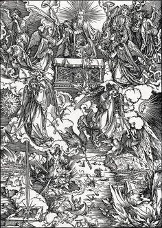 View Die sieben Posaunenengel The Seven Angels with Trumpets by Albrecht Dürer on artnet. Browse more artworks Albrecht Dürer from R. Apocalypse, Albrecht Dürer, Renaissance Artists, My Demons, Saint Jean, National Gallery Of Art, Trumpets, Italian Artist, Religious Art
