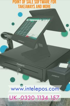 Epos System for Takeaway Order Management System, Kitchen Display, Caller Id, Point Of Sale, Software, The Unit, Business, Store, Business Illustration