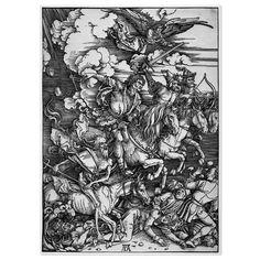 Albert Dürer: Four Horsemen of the Apocalypse