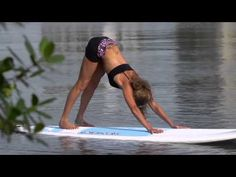 Jodelle Fitzwater takes you through a great yoga program on a stand up paddle board.   Brought to you by BIC SUP  http://www.bicsup.com  Produced by The Heliconia Press  http://www.helipress.com