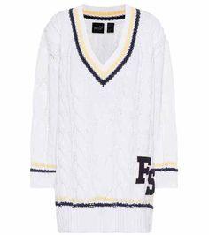 Oversized cable-knit sweater | Fenty by Rihanna