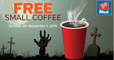 REMINDER: FREE Small Coffee at Mac's (Oct 26-Nov 1) on http://www.freebiescouponsdeals.com/