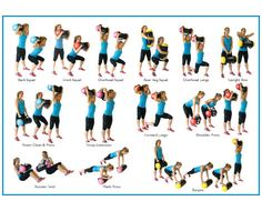 powerbag exercise chart - Google Search
