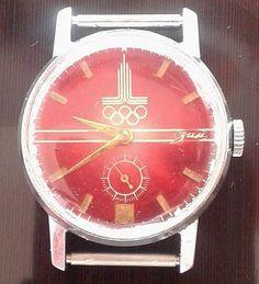 "Rare Vintage Russian USSR Zim""Olympiad 80"" mecanical 2602 watch #Zim"