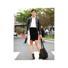 Street Style Spring 2012 New York Fashion Week via Polyvore