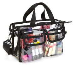 Seya Makeup Artist Clear PVC Set Bag w/ Removable Shoulder Strap Seya,http://www.amazon.com/dp/B00DVOQPRE/ref=cm_sw_r_pi_dp_bT9itb099DBV2X2M