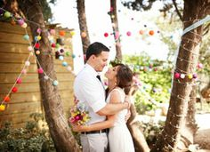 Real Weddings: In the Garden on Etsy