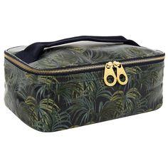 Buy House of Hackney Palmeral Print Travel Wash Bag, Midnight Online at johnlewis.com