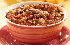 Chili - Ground Turkey Chili Stew   Halloween/Autumn Variation! Recipe via @SparkPeople