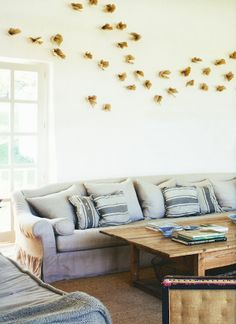 Haute Design by Sarah Klassen - Interior of wood, white and nature...