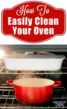 How To Easily Clean Your Oven (after all that holiday cooking and baking!) | One Good Thing By Jillee