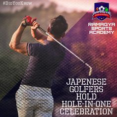 Hole-in-one is when a ball hit from a tee shot finishes in the cup. Like and Share! For more info visit at: http://www.ramagyasportsacademy.com