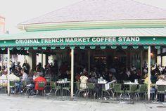 Cafe Du Monde! World's best beignets.