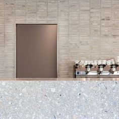Farini Bakery, Milan, by John Pawson Bakery Interior, Cafe Interior Design, Cafe Design, Interior Design Inspiration, Store Design, Bakery Cafe, Cafe Bar, Cafe Restaurant, Restaurant Design