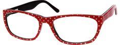 Women's Red 6311 Acetate Full-rim Frame With Spring Hinges | Zenni Optical Glasses-x7HJkKCF