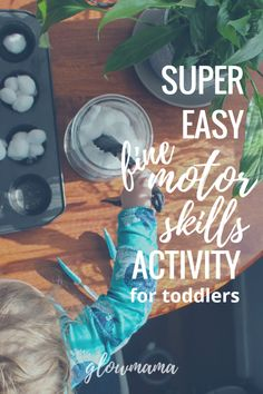 Super Easy Fine Motor Skills Activity For Toddlers Motor Skills Activities, Fine Motor Skills, Toddler Activities, Learning Activities, My Coffee, Fun Projects, Super Easy, Toddlers, Entertaining