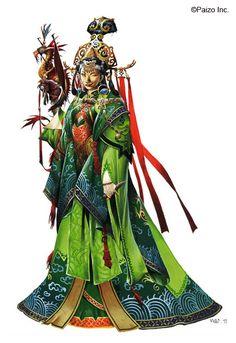 Wayne Reynolds Artworks   Ameiko - Empress