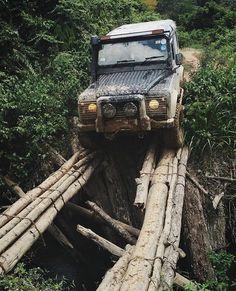 Hello World ... Hi Everyone ... Cross on Sketchy bridge .. #onelifeliveit #Adventure #defender90 #landy #landroverdefender #expeditionmobile #landrover #defender #offroad #4x4 #carswithoutlimits #Sketchybridge #carlifestyle #river #automotive #British #country #mud #dirteveryday #Lifestyle #Lifestyler #BritishWagon #stationwagon #adventure #roadtrip #trucks #outdoors #Nature #offroadvehicle #GentlemanModern by gentlemanmodern Hello World ... Hi Everyone ... Cross on Sketchy bridge .. #o...