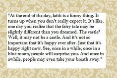 faith is funny Grey's Anatomy
