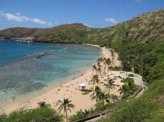 Snorkel, swim or sunbathe in beautiful #Hanauma Bay #MyTripAdvice