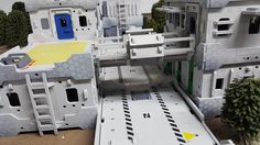 The Hab Block from MAD Gaming Terrain https://www.kickstarter.com/projects/1988679138/the-hab-block-multi-build-28mm-gaming-terrain-buil