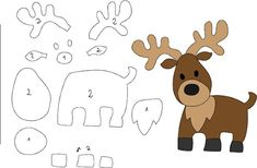 felt animals felt pattern deer Perhaps one of the most difficult dilemmas associated with Christmas Felt Doll Patterns, Felt Animal Patterns, Felt Crafts Patterns, Paper Piecing Patterns, Stuffed Animal Patterns, Felt Templates, Applique Templates, Applique Patterns, Card Templates