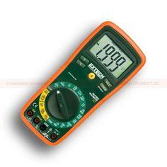 http://handinstrument.se/multimeter-r742/multimeter-med-sparbart-kalibreringscertifikat-ex411-53-EX411-NIST-r759  Multimeter med spårbart kalibreringscertifikat EX411  Sann RMS DMM med 8 funktioner och 0,3% grundläggande noggrannhet  AC / DC Spänning & ström, resistans, temperatur, diod / kontinuitet  Ingångssäkring skydd och MIS-anslutning varning  20A max ström  Typ K temperaturmätningar  Data-Freeze, relativ mätning, auto Power-Off  Stor-siffrig bakgrundsbelyst LCD...