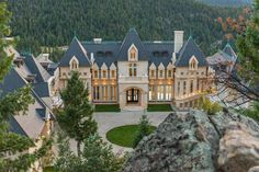 Mountain Chateau Mansion - Evergreen, Colorado