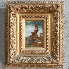 Framed Oil on Panel