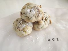 four ingredient pistachio cookies