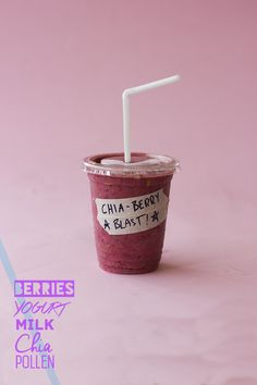 Chia Berry Blast Smoothie