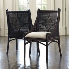 Dang, if I only needed more chairs! Bella Cane Dining Chairs by Ballard Designs