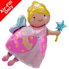 Fairy Godmother Helium Foil Balloon - 36 inch: Make a wish! With the wave of a wand, this Fairy Godmother Balloon brings good wishes to birthday parties and more. Princess Theme Birthday, Fairy Birthday, Princess Party Supplies, Princess Balloons, Fairy Tea Parties, Photo Souvenir, Online Party Supplies, Fairy Princesses, Fairy Godmother