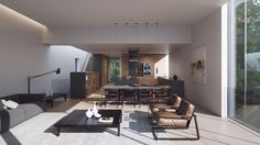 Ström Architects reveals hyper-realistic renderings for pair of Swedish island villas