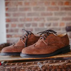 Another new style for The Dubarry Derry men's brogue is available in brown or walnut. Shop this style online or at our Belfast store Country Attire, Country Boots, New Shoes, Men's Shoes, Sailing Boots, Rugged Look, Leather Brogues, Shoe Tree, Derby Shoes