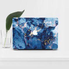 Macbook Pro 15 Inch, Macbook Air 13 Case, Macbook Pro Wallpaper, Desktop Wallpapers, Marble Macbook Case, Mac Laptop, Laptop Covers, Blue, Aesthetic Vintage