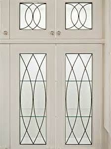 Wonderful Leaded Glass Cabinet Doors Concept