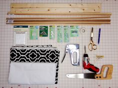 A Roman Shade is a great way to dress up your windows. Make a custom shade to save time and money with this easy tutorial. Cordless Roman Shades, Diy Roman Shades, How To Make A Roman Blind, Roman Shade Tutorial, Gypsy Curtains, Window Coverings, Window Treatments, Window Valances, Plywood Furniture