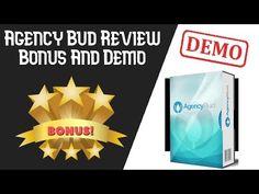 Agency Bud Review | AgencyBud Demo Plus Bonus - YouTube Bud, Youtube, Youtubers, Gem, Eyes, Youtube Movies, Knob