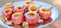 [Fall] #DIY Hollowed Out Apples Filled with Cider