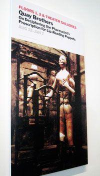 8.17.12: Jill Krementz covers the Quay Brothers at MoMA | New York Social Diary