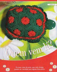 Crochet Amigurumi free pattern turtle      ♪ ♪ ... #inspiration_crochet #diy GB