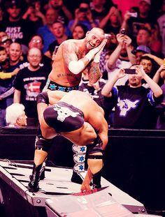 CM Punk vs Rock