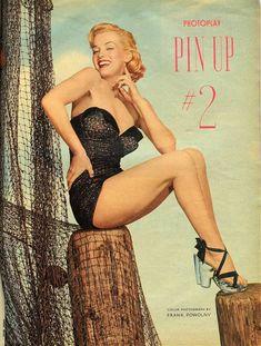 Marilyn Monroe for Photoplay magazine, 1951, Frank Powolny