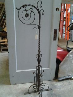 Austrian Iron Stand from Black Dog Salvage