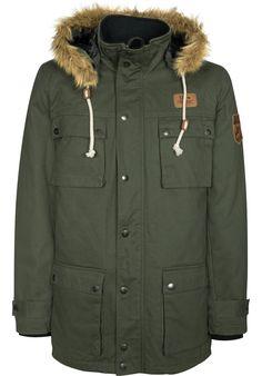 Titus DailyDeal: Key-Street Black-Forest - titus-shop.com  #JacketParka #MenClothing #titus #titusskateshop